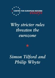 Why stricter rules threaten the eurozone - Centre for European Reform