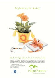 Brighten up for Spring And bring hope to a ... - Accountancy SA