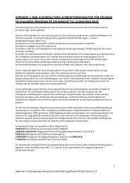 appendix 1 - Chalmers tekniska högskola