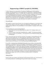 Impact_S2_Caoching_2009 slutrapport.pdf - Chalmers tekniska ...