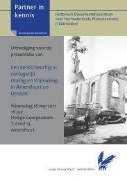 Uitnodiging presentatie (pdf) - Vereniging van Christen-Historici