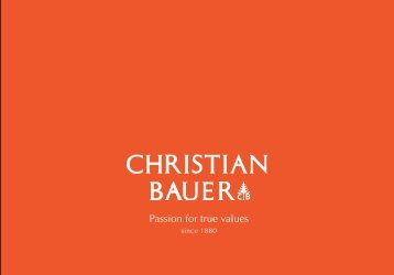 PDF download Catalogus - Christian Bauer