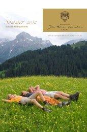 Spezial-Arrangements www.romantikhotelkrone-lech.at
