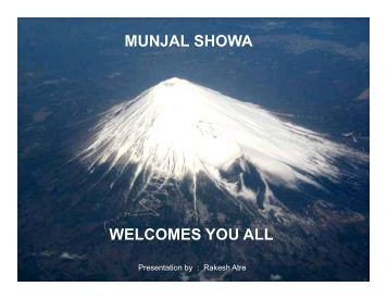 Munjal Showa Ltd - CII