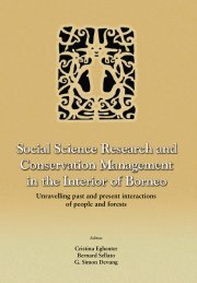 Social science research and conservation management in the ...