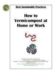 How to Vermicompost at Home or Work - City of Sacramento