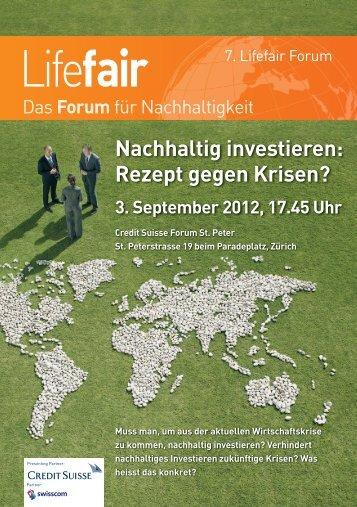Lifefair - Cleantech Switzerland