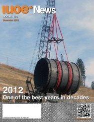 IUOE News - Winter 2012