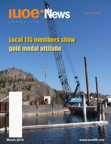 IUOE News - Spring 2010