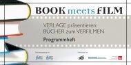 BOOK meets FILM - Cluster Druck und Printmedien