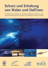 Schutz und Erhaltung von Walen und Delfinen - Convention on ...