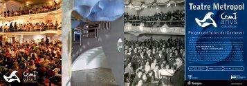Teatre Metropol - Ajuntament de Tarragona