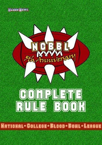 NCBBL Regeln 5
