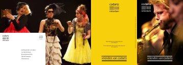 Download hier de brochure van de Stichting Vrienden van Codarts.