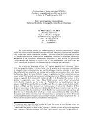 Célébration du 30e anniversaire du CODESRIA Conférence sous ...