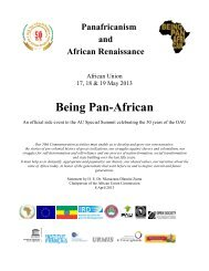Being Pan-African - codesria