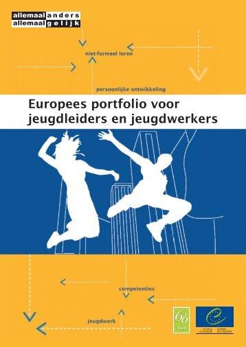 Europees portfolio voor jeugdleiders en jeugdwerkers