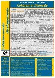 Cohésion sociale - Council of Europe