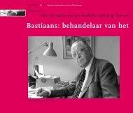 Bastiaans: behandelaar van het KZ-syndroom - Cogis