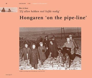 Hongaren 'on the pipe-line' - Cogis
