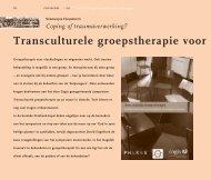 Transculturele groepstherapie voor vluchtelingen - Cogis