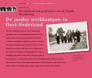 De joodse werkkampen in Oost-Nederland - Cogis