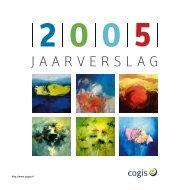Jaarverslag 2005 - Cogis