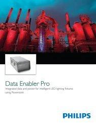 Data Enabler Pro Product Guide - Color Kinetics
