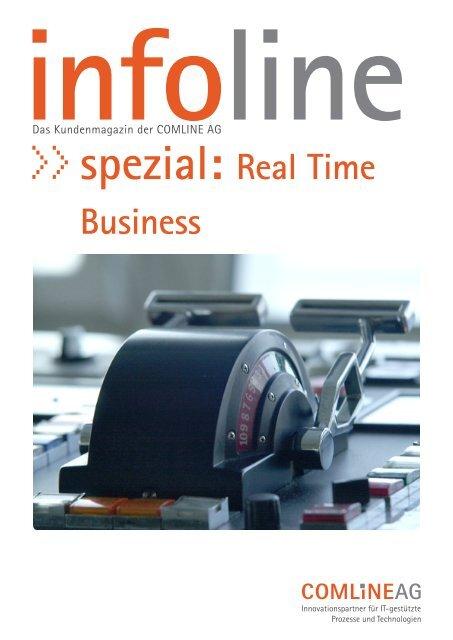 Real Time Business mit SAP HANA - Comline AG