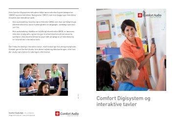 Comfort Digisystem og interaktive tavler - Comfort Audio
