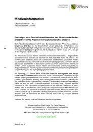 Medieninformation 2012-01