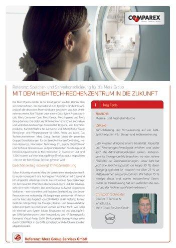 Merz Group Services GmbH - COMPAREX