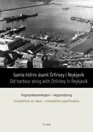 Gamla höfnin ásamt Örfirisey í Reykjavík Old ... - Competitionline