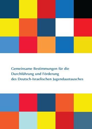 Gemeinsame Bestimmungen für die Durchführung und ... - ConAct