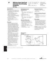 Complete Technical Specifications - Cooper Industries