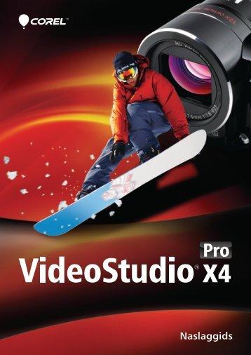 Corel VideoStudio Pro X4 Reviewer's Guide (NL) - Corel Corporation