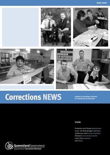 June Corrections News - Queensland Corrective Services ...