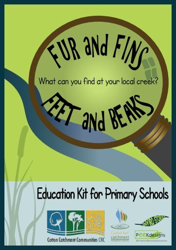 """""""Fur and Fins, Feet and Beaks"""" Education Kit - Cotton Catchment ..."""