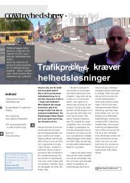 Trafikpr kræver helhedsløsninger - Cowi