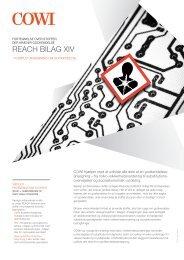 reACH bilAg Xiv - Cowi