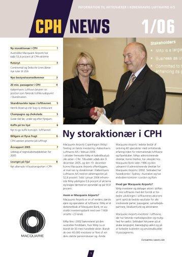 Ny storaktionær i CPH– fortsat fra forrige side - Københavns Lufthavne