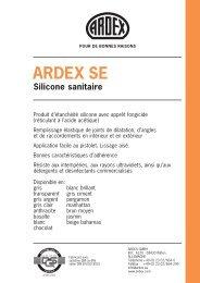 ARDEX SE Silicone sanitaire
