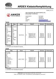 Anker Teppichboden - Ardex