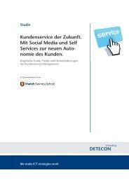 Kundenservice der Zukunft. Mit Social Media und Self ... - CRM Finder