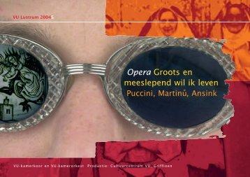 Flyer-Opera + toevoeging - Vrije Universiteit Amsterdam