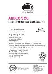ARDEX S 20 Flexibler Mittel