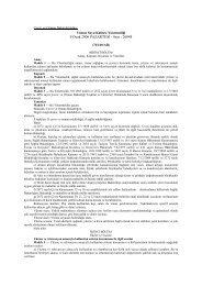 9 Ocak 2006 PAZARTESİ - Sayı : 26048 - Çevre ve Şehircilik Bakanlığı