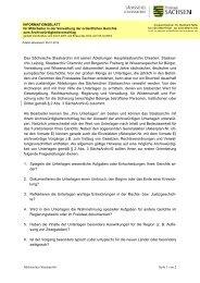 Landesweb Sachsen - Infoblatt Archvorschlag - Freistaat Sachsen