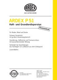 ARDEX P 51 Haft- und Grundierdispersion