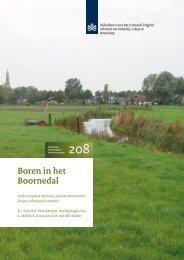 Boren in het Boornedal - Rijksdienst voor het Cultureel Erfgoed